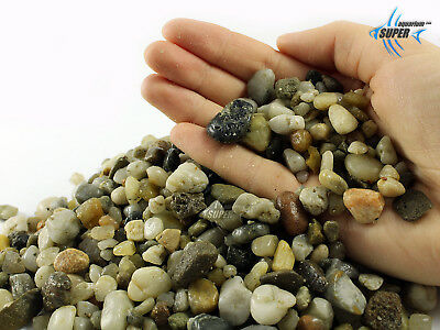 AQUARIUM NATURAL STONES GRAVEL TROPICAL GOLDFISH & PLECO PLANT FISH TANK 10-20mm