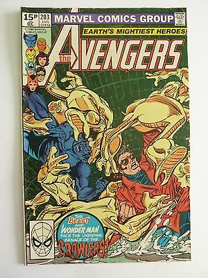 Marvel - Avengers January 1981 No. 203