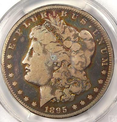 1895-O Morgan Silver Dollar $1 - PCGS VG Details - Rare Date Certified Coin