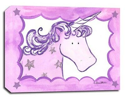 Horse Unicorns Fairy, Prints or Canvas Wall Art Decor, Kids Bedroom Baby Nursery