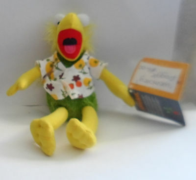 Two Fraggle Rock Wembley and Mokey Soft Toys Brand new with tags