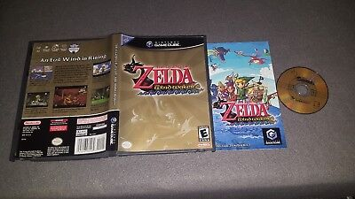Legend of Zelda: The Wind Waker (Nintendo GameCube) COMPLETE Tested FAST SHIP