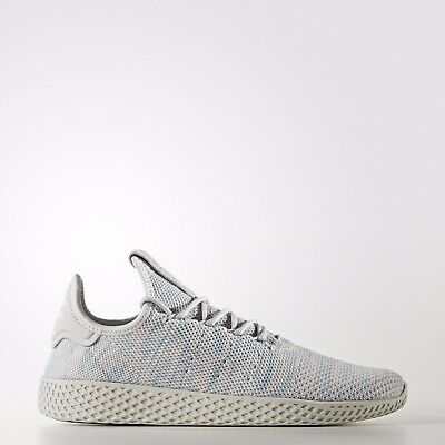 1e610055fd5cb ADIDAS ORIGINALS PHARRELL Williams Tennis HU Shoes Light blue BY2671 ...