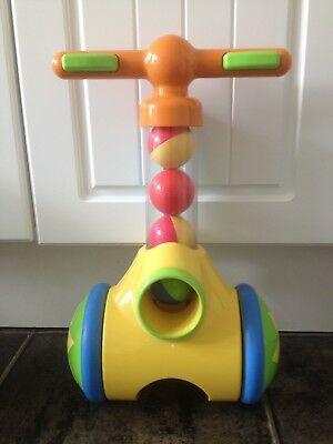 TOMY 71161 PIC N POP Play To Learn Toddler Push Along Toy Ball Game