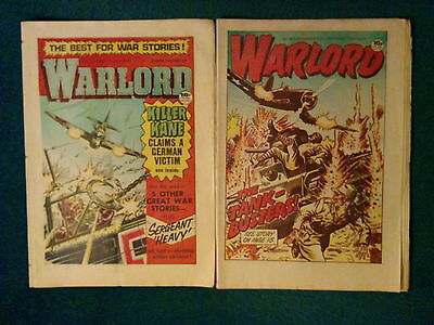 2 Of Warlord Comics No 445 / 483 Dated Apr / Dec 1983
