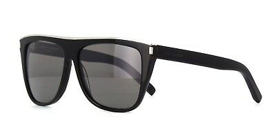 NEW SAINT LAURENT SL 136 Combi 001 Black SIlver Sunglasses -  319.99 ... a556806fc6c4