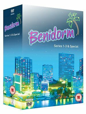 Benidorm - Series 1-3 and Special DVD Johnny Vegas Brand New Perfect DVD
