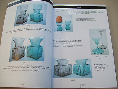 book Dartington glassThe first twenty years. Frank Thrower catalogue 50th year