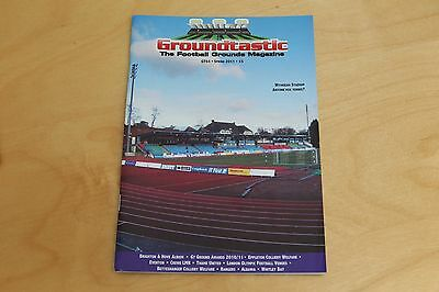 Groundtastic - The Football Grounds Magazine - No 64 Spring 2011