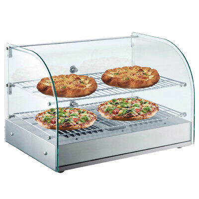 Buffalo Heated Food Display 45Ltr Pies Pasties Sausage Rolls Pizza Cabinet