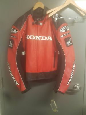 Brand new Honda joe rocket leather jocket size 48