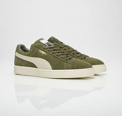 Puma Suede Classic Men Fashion Sneakers Olive 363242 27 Fast Shiping L 8499491bd