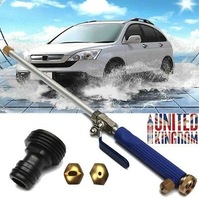 High Pressure Power Washer Sprayer Nozzle Water Wand Home Garden Hose Tool