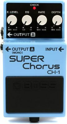 New Boss CH-1 Super Chorus Pedal