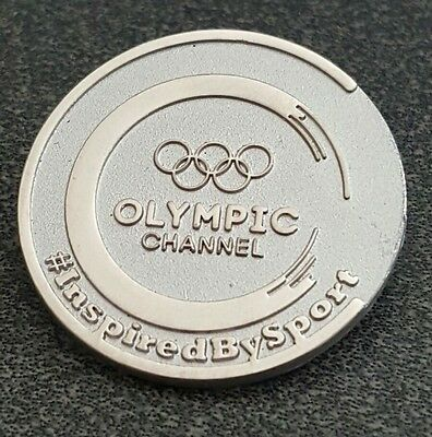 2016 Rio Olympic MEDIA TV OLYMPIC CHANNEL PIN