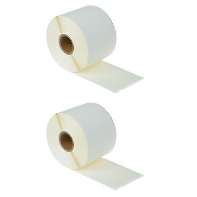 "2 Rolls of 300 Large Shipping Labels 2 5/16"" x 4"" for DYMO LabelWriter 30256"