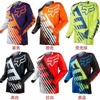 2017 Motocross Jersey FOXS Xtreme Sports Off Road Clothing Quick Dry A1