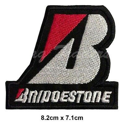 BRIDGESTONE Race Sponsor Embroidered Iron-On Patch BADGE LOGO