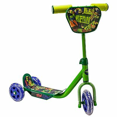 Teenage Mutant Ninja Turtles 3 Wheeled Scooter Outdoor Adjustable