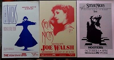 STEVIE NICKS Concert Posters (3 posters one auction)