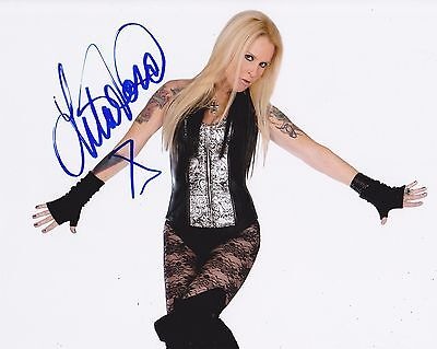 Lita Ford Autographed 8x10 Photo (Reproduction) 3
