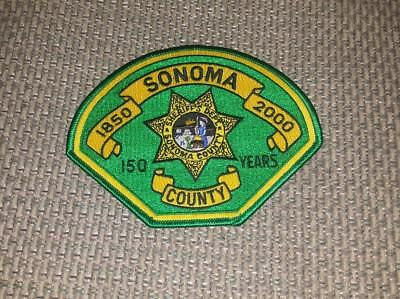 California - Sonoma County Sheriff 150th Anniversary Shoulder Patch