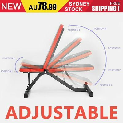 Adjustable decline incline home gym weight bench press equipment Folding Bench