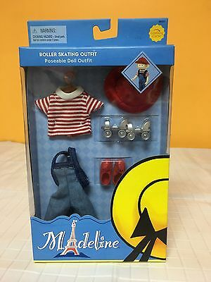 Madeline Poseable Doll Roller Skating Outfit Complete NIB Mint Condition Eden