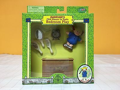 Madeline's Old House In Paris Bedroom Play Set Complete NIB Mint Condition Eden