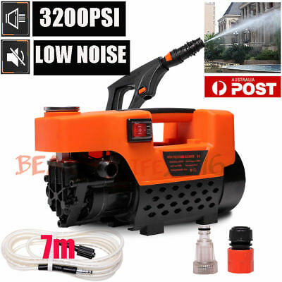 NEW 3200 PSI High Pressure Washer Electric Water Cleaner Gurney Pump 7M Hose AU