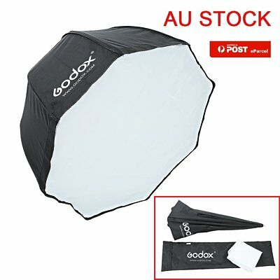 "AU GODOX 80cm 32"" Octagon Umbrella Softbox + Portable Bag for Studio Flash Photo"