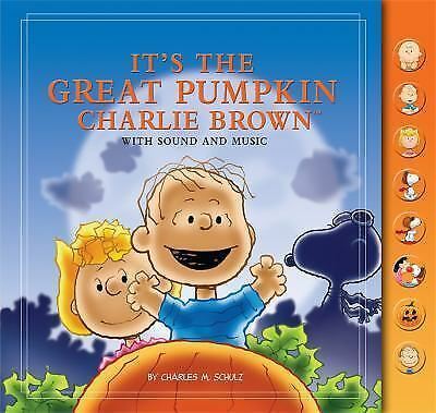 It's the Great Pumpkin, Charlie Brown  Charles M. Schulz Talking Hardcover Book