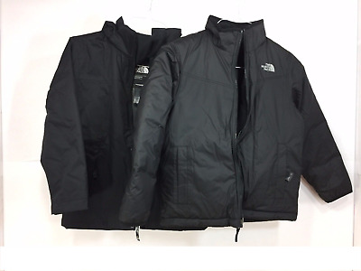 New THE NORTH FACE Youth Boys Abbit Triclimate 3-in-1 Jacket-Black Size Medium