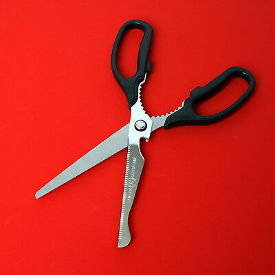 Multi Use Scissors with Drwawing Scale Kitchen Fabric Cook Tijeras Shears I_g