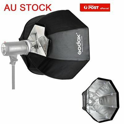 AU GODOX 120cm Octagon Umbrella Softbox &Bowens Mount Speedring for Studio Flash