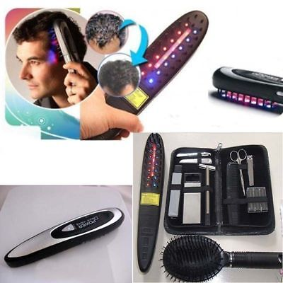 Hair Loss Treatment Cure Power Grow Laser Regrow Comb Treatment Kit For Hair