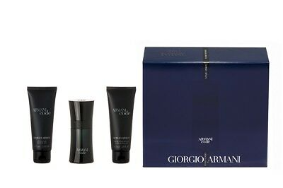 ARMANI CODE HOMME Eau de Toilette Spray 50 ml + Duschgel 75 ml +AS Balm 75ml Set