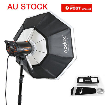"AU Godox 95cm 37"" Studio Flash Light Octagon Softbox + Bowens Mount Speedring"