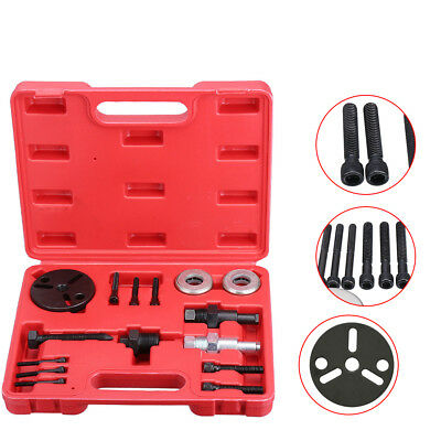 Automotive Air Conditioning Car AC Compressor Clutch A/C Puller Remover Tool Kit