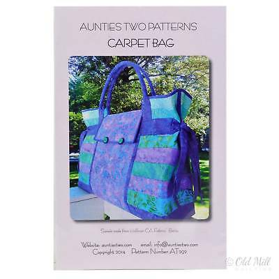 Carpet Bag Pattern by Aunties Two
