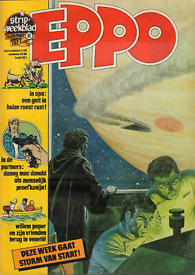 STRIPWEEKBLAD EPPO 1977 nr. 11 - AGENT 327 / STORM (COVER) / PARTNERS /BLUEBERRY