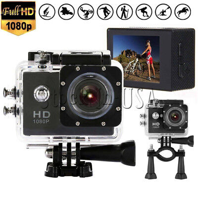 Waterproof SJ4000 Sport Video Full 1080P Non-WiFi Action Camera Camcorder DV DVR