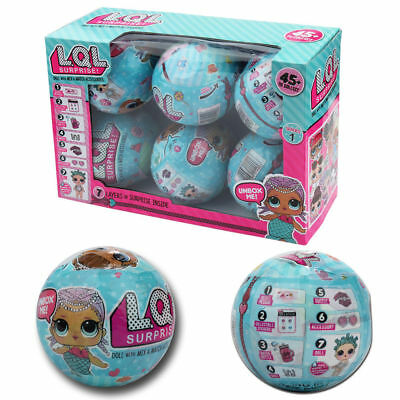 LQL Surprise Dolls  Series 1  Lil Sisters 7 Layers of Surprise 6 in one BOX