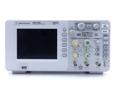 Keysight Used DSO1102B 1000-Series Oscilloscope, 2-Ch,100 MHz (Agilent)