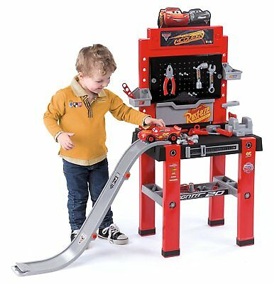 Smoby Cars Bricolo Centre Workbench, toy workbench