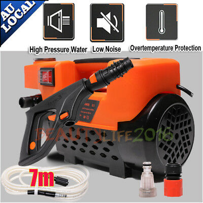 3200 PSI High Pressure Mute Water Cleaner Washer Electric 7M Hose Gurney Pump AU