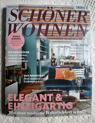 zeitschrift zuhause wohnen 10 2017 oktober 2017 eur. Black Bedroom Furniture Sets. Home Design Ideas