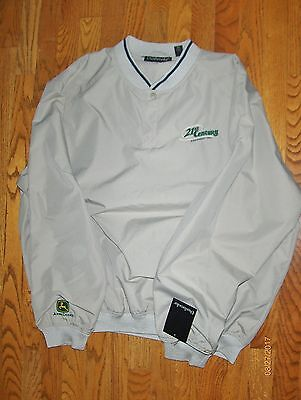 Men's Dunbrooke Windbreaker/Golf Jacket, XL, NWT, JOHN DEERE - 21st Century Equ.
