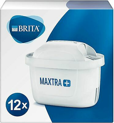 12 x BRITA Maxtra+ Plus Water Filter Jug Replacement Cartridges Refills UK Pack