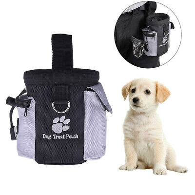 Pet Dog Puppy Training Pouch Walking Treat Snack Bag Snack Packs Portable Bag MN